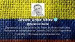 Álvaro Uribe publica en Twitter fotos de policías abatidos y causa polémica - Noticias de farc