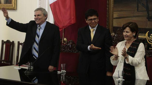 ENCUENTRO ESPERADO. Castañeda (izq.) y Villarán (der.) podrían explicar sus planes para Lima. (Rafael Cornejo)