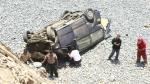 Seis muertos por accidente vehicular en Ayacucho - Noticias de micky gonzales