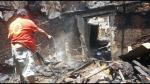 FOTOS: Incendio consumió viviendas en quinta de Barrios Altos - Noticias de bomberos