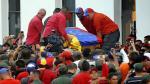 El féretro de Hugo Chávez llegó a la Academia Militar - Noticias de capilla ardiente