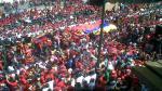 FOTOS: Marea roja espera afuera de la Academia Militar - Noticias de venezuela