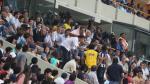 Presidente de Cristal casi se pelea con dirigente de la 'U' - Noticias de jorge cantuarias
